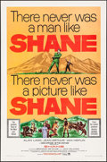"Movie Posters:Western, Shane (Paramount, R-1965). One Sheet (27"" X 41""). Western.. ..."