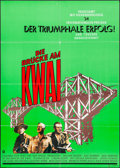 "Movie Posters:War, The Bridge on the River Kwai (Columbia, R-1980s). German A1 (23.25""X 33""). War.. ..."