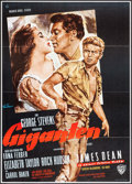 "Movie Posters:Drama, Giant (Warner Brothers, R-1960s). German A1 (23"" X 33""). Drama....."