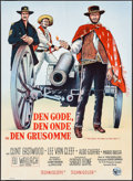 "Movie Posters:Western, The Good, the Bad and the Ugly (United Artists, 1968). DanishPoster (24.25"" X 33.5""). Western.. ..."