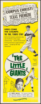 "The Little Giants (Continental, 1961). Insert (14"" X 36""). Sports"