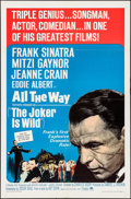 """Movie Posters:Drama, The Joker is Wild & Other Lot (Paramount, R-1966). One Sheet (27"""" X 41""""), Lobby Card Set of 8, & Title Lobby Card (11"""" X 14""""... (Total: 10 Items)"""