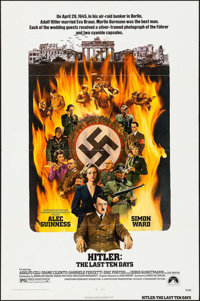 """Hitler: The Last Ten Days & Others Lot (Paramount, 1973). One Sheets (3) (27"""" X 41"""") & Lobby Card Sets..."""