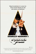 "Movie Posters:Science Fiction, A Clockwork Orange (Warner Brothers, 1971). One Sheet (27"" X 41"") X Rated Style. Science Fiction.. ..."
