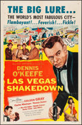 """Movie Posters:Drama, Las Vegas Shakedown & Other Lot (Allied Artists, 1955).Autographed One Sheet & One Sheet (27"""" X 41""""). Drama.. ...(Total: 2 Items)"""