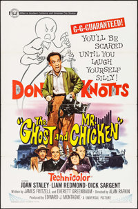 "The Ghost and Mr. Chicken (Universal, 1966). One Sheet (27"" X 41""). Comedy"
