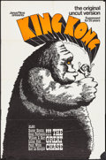 "Movie Posters:Horror, King Kong (Janus, R-1968). One Sheet (27"" X 41""). Horror.. ..."