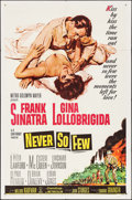 """Movie Posters:War, Never So Few & Other Lot (MGM, 1959). One Sheets (2) (27"""" X41""""). War.. ... (Total: 2 Items)"""