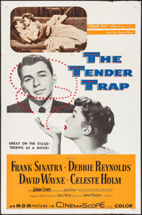 "The Tender Trap & Other Lot (MGM, 1955). One Sheets (2) (27"" X 41""). Comedy. ... (Total: 2 Items)"