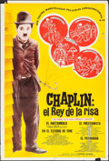 "Movie Posters:Comedy, Charlie Chaplin: The King of Laughter (1960s). Argentinean Poster(29"" X 43""). Comedy.. ..."
