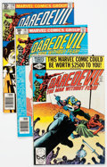 Modern Age (1980-Present):Superhero, Daredevil Group of 102 (Marvel, 1980-93) Condition: AverageFN/VF.... (Total: 102 Comic Books)