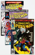 Modern Age (1980-Present):Superhero, The Amazing Spider-Man Key Issues Group of 4 (Marvel, 1979-92)Condition: Average FN.... (Total: 4 Comic Books)