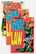 Modern Age (1980-Present):Science Fiction, Judge Dredd Related Group of 68 (Eagle, 1980s) Condition: AverageVF/NM.... (Total: 68 Comic Books)