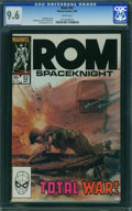 Rom #52 (Marvel, 1984) CGC NM+ 9.6 White pages