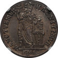 Netherlands East Indies, Netherlands East Indies: United East India Company Gulden 1786-VOCMS65 NGC, ...