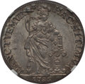 Netherlands East Indies, Netherlands East Indies: Dutch Colony. Utrecht Gulden 1786-VOC MS65NGC,...