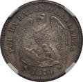 Chile, Chile: Republic 50 Centavos 1870-So MS65 NGC,...