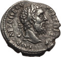 Ancients:Roman Imperial, Ancients: Pertinax (AD 193). AR denarius (2.33 gm). NGC (photocertificate) Choice VF 4/5 - 2/5, light smoothing....