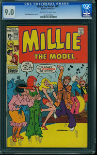Millie the Model #191 (Atlas/Marvel, 1971) CGC VF/NM 9.0 Off-white to white pages