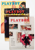 Magazines:Miscellaneous, Playboy 1958 Complete Year Group of 12 (HMH Publishing, 1958)....(Total: 12 Items)