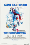 "Movie Posters:Action, The Eiger Sanction (Universal, 1975). One Sheet (27"" X 41"") &Mini Lobby Card Set of 8 (8"" X 10""). Action.. ... (Total: 9 Items)"