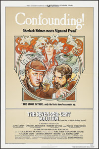 """The Seven-Per-Cent Solution (Universal, 1976). One Sheet (27"""" X 41"""") & Mini Lobby Card Set of 8 (8&quo..."""