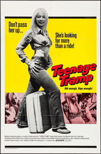 """Teenage Tramp & Other Lot (NMD, 1973). One Sheets (2) (27"""" X 41""""). Exploitation. ... (Total: 2 Items)"""