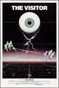 "The Visitor & Others Lot (International Picture Show, 1980). One Sheets (2) (27"" X 41"") & Uncut Pressb..."