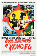 "Movie Posters:Action, Soul Brothers of Kung Fu & Other Lot (Cinema SharesInternational, 1977). One Sheets (2) (27"" X 41""). Action.. ...(Total: 2 Items)"