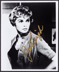 """Movie Posters:Hitchcock, Janet Leigh in Psycho (Late 1980s). Autographed Restrike PortraitPhoto (8"""" X 10""""). Hitchcock.. ..."""