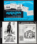 "Movie Posters:Animation, Alakazam the Great & Others Lot (American International, 1960). Pressbook & Ad Supplements (20+) (Multiple Pages, 8.5""-13.5""... (Total: 20 Items)"