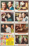 """Movie Posters:Drama, Executive Suite (MGM, 1954). Lobby Card Set of 8 (11"""" X 14"""").Drama.. ... (Total: 8 Items)"""