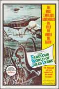 """Movie Posters:Fantasy, The Fabulous World of Jules Verne (Warner Brothers, 1961). One Sheet (27"""" X 41"""") & Lobby Card Set of 8 (11"""" X 14""""). Fantasy.... (Total: 9 Items)"""