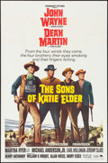"Movie Posters:Western, The Sons of Katie Elder (Paramount, 1965). One Sheet (27"" X 41""). Western.. ..."