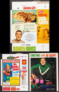 "Movie Posters:Miscellaneous, Jim Nabors Lot (Various, 1960s). Autographed Sheet Music Book (32Pages, 9"" X 12"") & Autographed Cereal Boxes (2) (8.75"" X 1...(Total: 3 Items)"