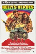 "Movie Posters:War, Kelly's Heroes (MGM, 1970). Roadshow One Sheet (27"" X 41"") &Uncut Pressbook (12 Pages, 12"" X 16""). War.. ... (Total: 2 Items)"