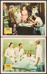 """Mr. Moto in Danger Island (20th Century Fox, 1939). Lobby Cards (2) (11"""" X 14""""). Mystery. ... (Total: 2 Items)"""