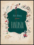 "Movie Posters:Animation, Fantasia (RKO, 1940). Program (32 Pages, 9.5"" X 12.75""). Animation.. ..."