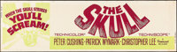 "The Skull (Paramount, 1965). Banner (24"" X 82""). Horror"