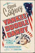"Movie Posters:Musical, Yankee Doodle Dandy (Warner Brothers, 1942). One Sheet (27"" X 41""). Musical.. ..."