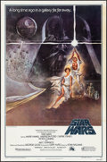 "Movie Posters:Science Fiction, Star Wars (20th Century Fox, 1977). Third Printing One Sheet (27"" X 41"") Style A. Science Fiction.. ..."