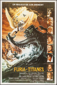"""Clash of the Titans (MGM, 1981). Argentinean Poster (29"""" X 43""""). Fantasy"""