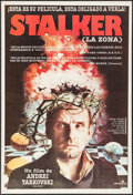 "Movie Posters:Science Fiction, Stalker (Darelcine, 1981). First Release Argentinean Poster (28.75""X 42.25""). Science Fiction.. ..."