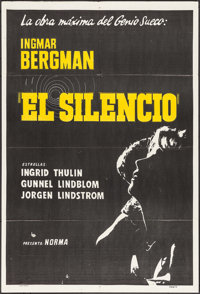 """The Silence & Other Lot (DASA, 1964). Argentinean Posters (2) (29"""" X 43""""). Foreign. ... (Total: 2 Item..."""