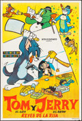 "Movie Posters:Animation, Tom and Jerry -- Kings of Laughter & Other Lot (MGM, 1950s).Argentinean Posters (2) (29"" X 43""). Animation.. ... (Total: 2Items)"