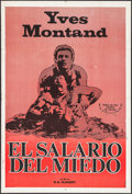 """Movie Posters:Foreign, Wages of Fear (Cinedis, R-1960s). Argentinean Poster (29"""" X 43""""). Foreign.. ..."""