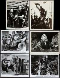 "The Ten Commandments & Others Lot (Paramount, 1956). Photos (10) (8"" X 10""). Drama. ... (Total: 10 Ite..."