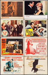 "The Man with the Golden Arm and Other Lot (United Artists, 1955). Lobby Cards (166) (11"" X 14""). Drama. ... (T..."