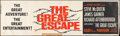 "Movie Posters:War, The Great Escape (United Artists, 1963). Silk-Screen Banner (24"" X82""). War.. ..."