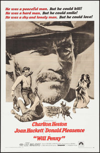 """Will Penny & Others Lot (Paramount, 1968). One Sheets (16) (27"""" X 41""""). Western. ... (Total: 16 Items)"""